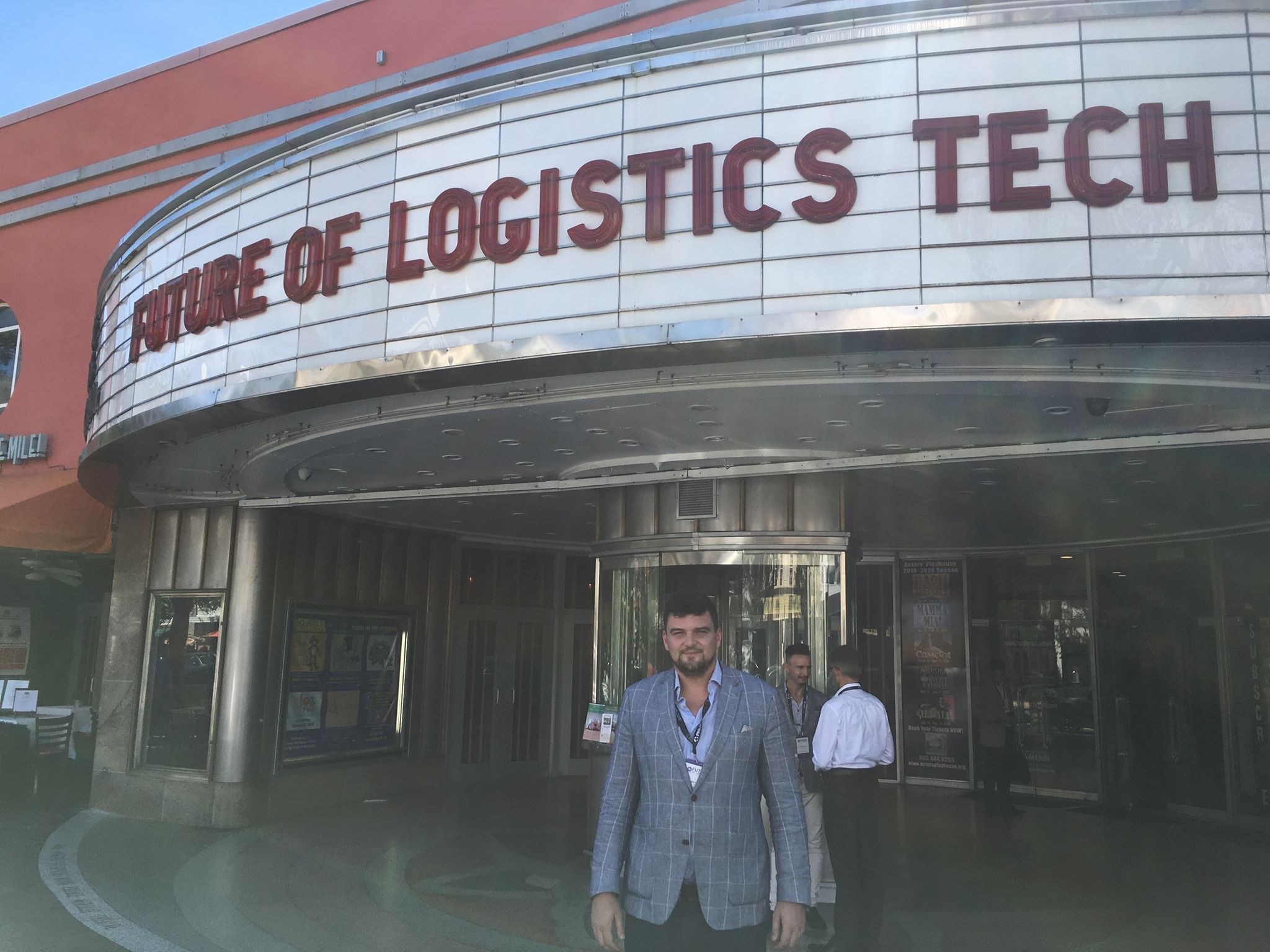 Aeriu was participating in Future of Logistics Tech Summit