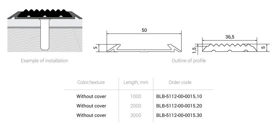 Aluminium-rubber stair nosing Braz Line.png
