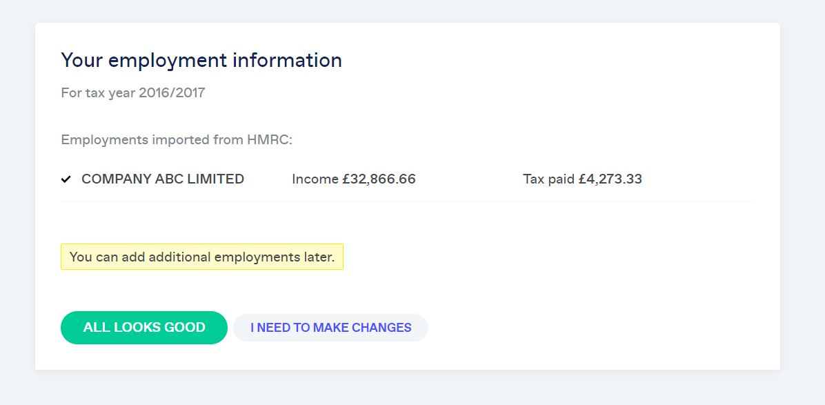 Hmrc Employment Information
