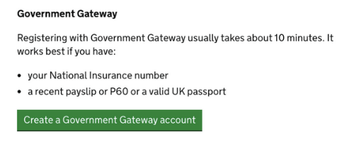 personal tax account - step 1 - create gov gateway account.png