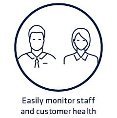 Monitor staff