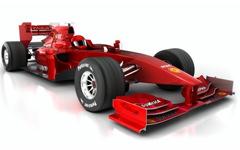 DISPAL® application - racing car