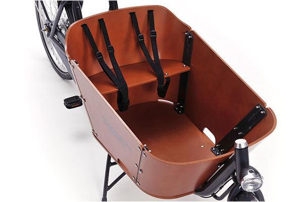 Sitzbank für Kinder mit Gurten - Quelle: babboe.com