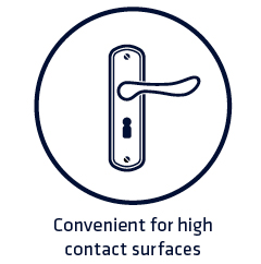 High contact surfaces