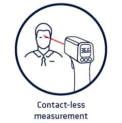 Contact-less measurement