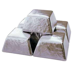Ingots of high-purity aluminium from Hydro