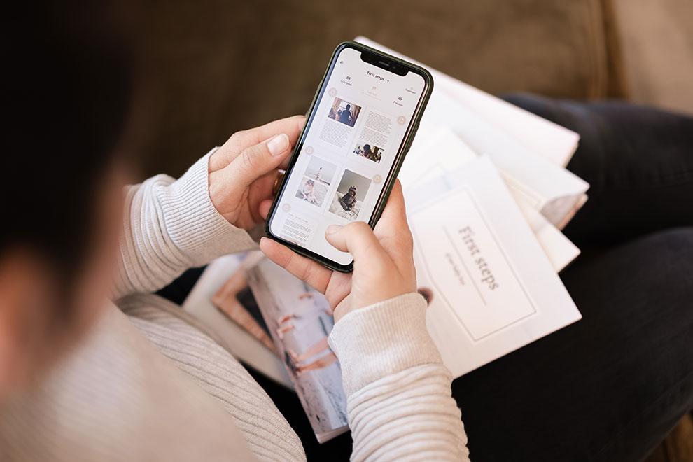 Hou je dagboek bij op een mobiele telefoon met Baby Diaries