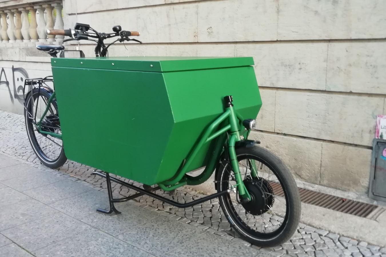 Messenger-Box (Rad ist Baujahr 2018) - Quelle: null