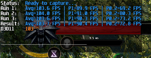 RTSS overlay + run history aggregation