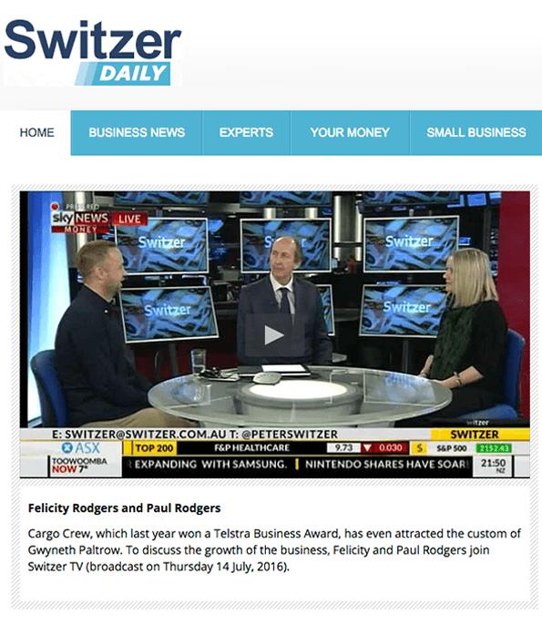 Cargo Crew Press | Switzer TV