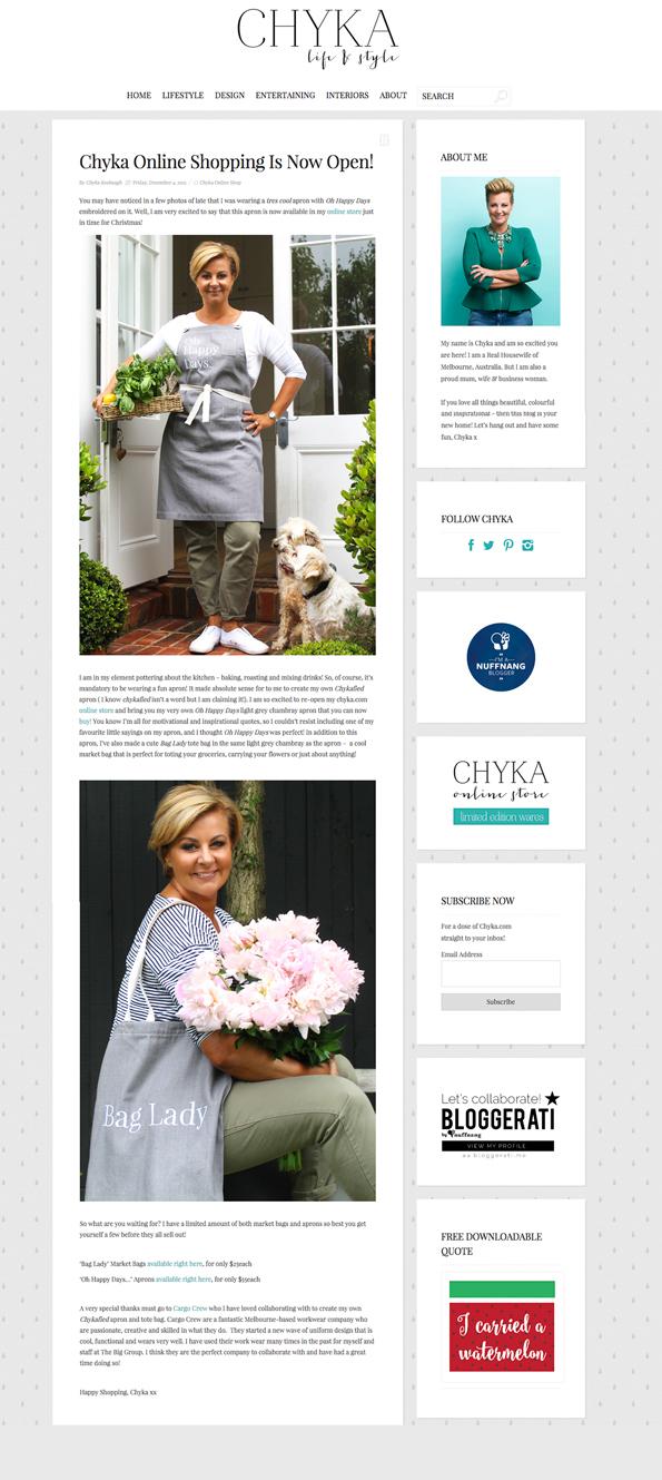 Cargo Crew Press | Chyka