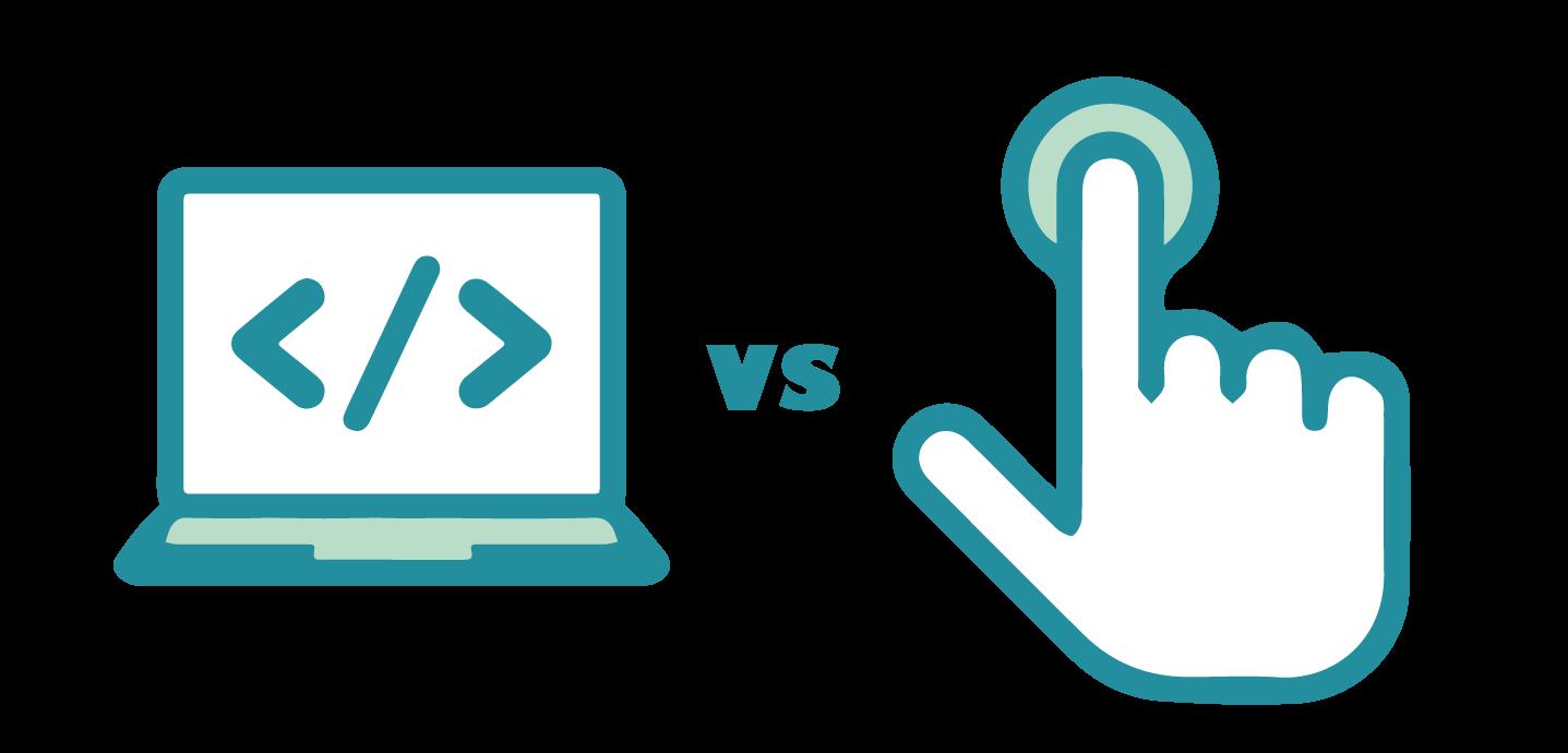 Coding v UI icon