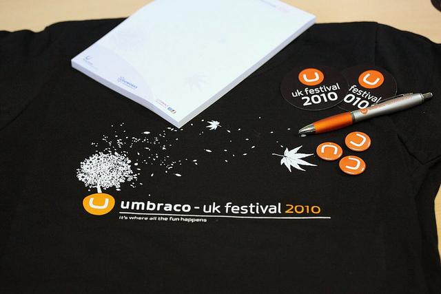 Umbraco UK Festival design 2010