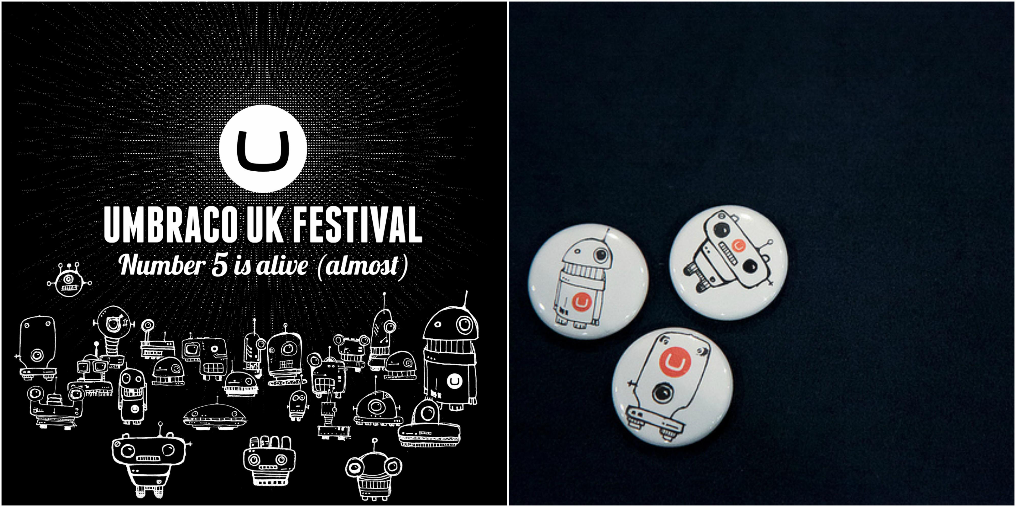 Umbraco UK Festival design 2011