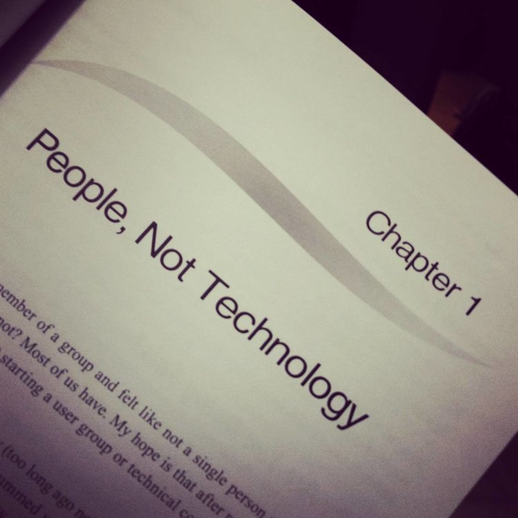 People, not technology