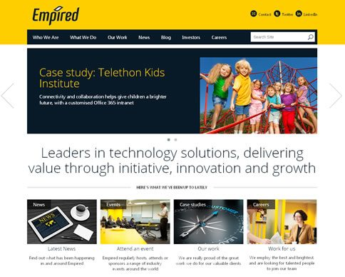 Our work with Empired