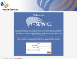 Our work wi+ Hastie I-Service