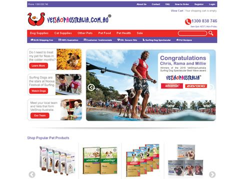 Our work with VetShop Australia