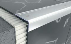Aluminium stair nosing profiles by Braz Line