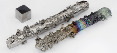 Tungsten in various forms