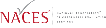 NACES - National Association of Credential Evaluation Services Logo