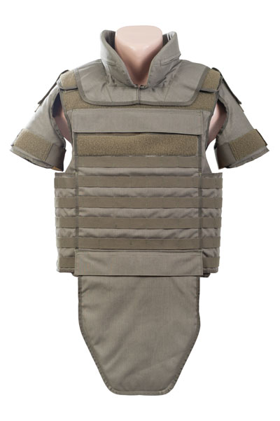 Protective gear made of kevlar