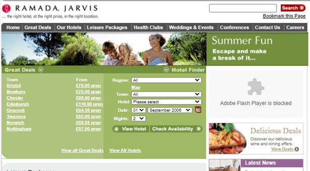 Ramada Jarvis Hotels