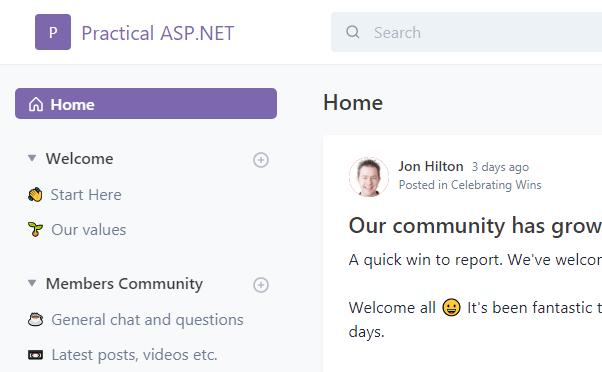 Practical ASP.NET Pro Community