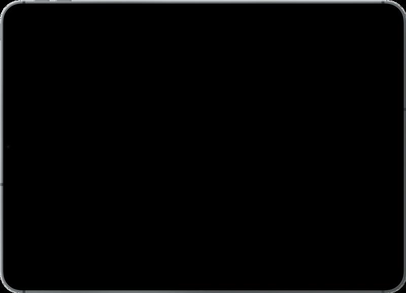 Empty ipad