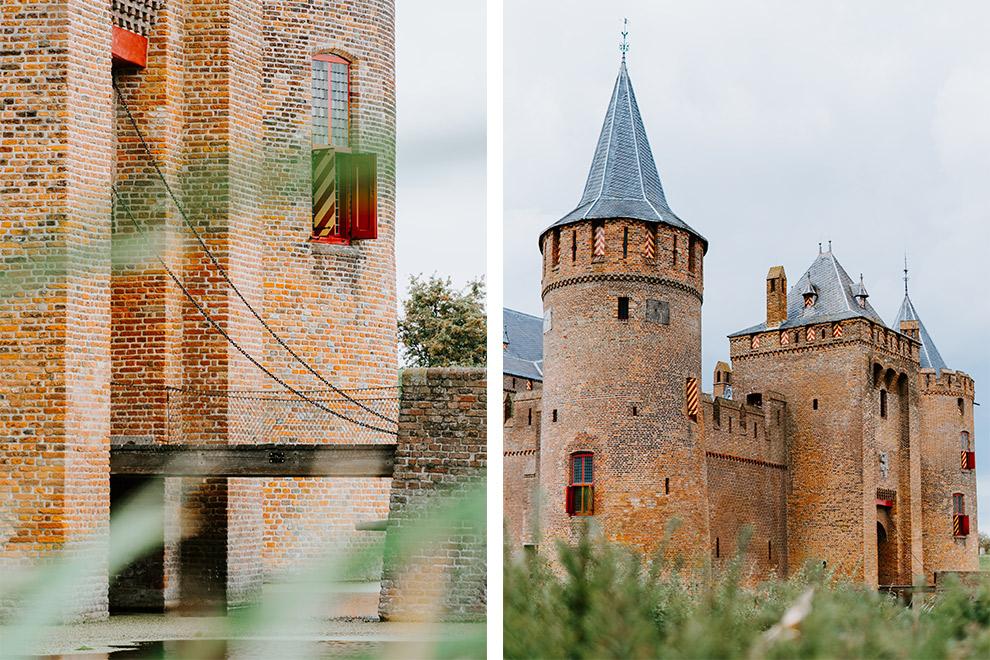 Het Muiderslot kasteel
