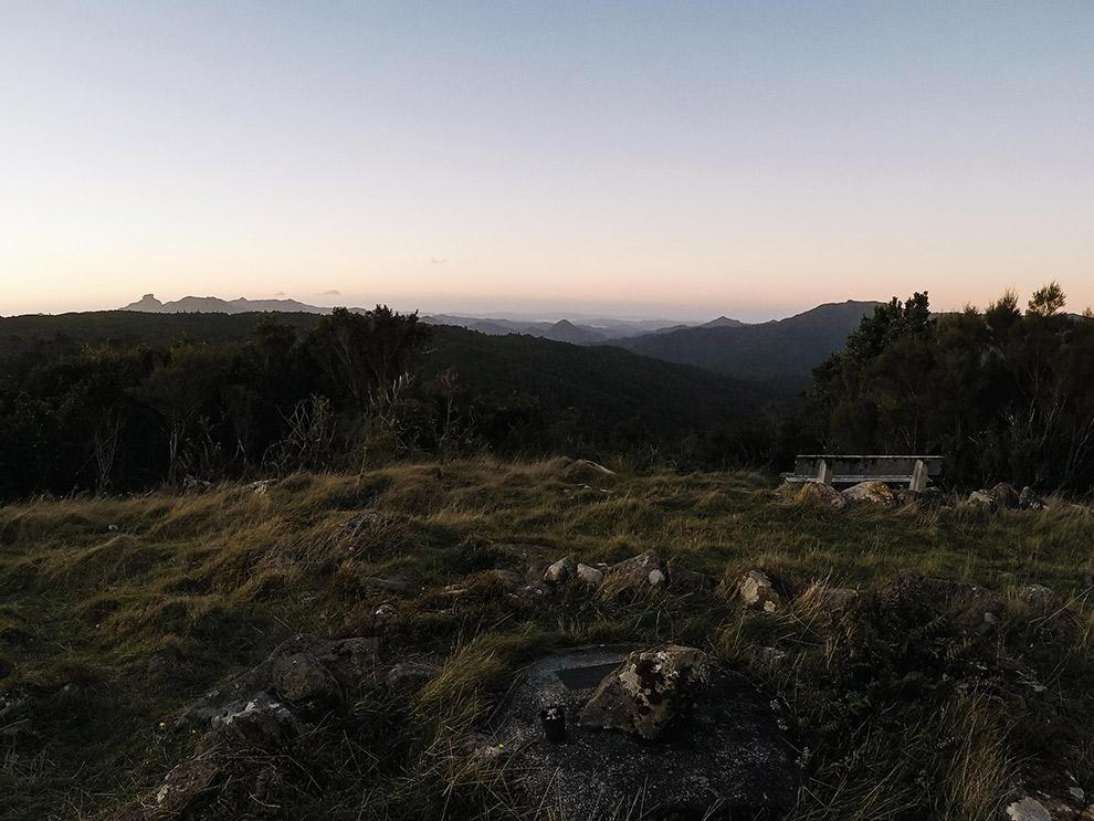 Indrukwekkend uitzicht hoog in de Nieuw-Zeelandse bergen
