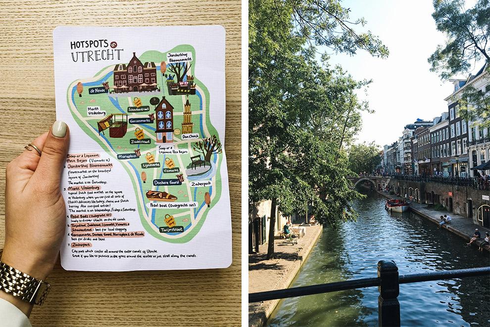 Wandelend of fietsend langs de hotspots van Utrecht