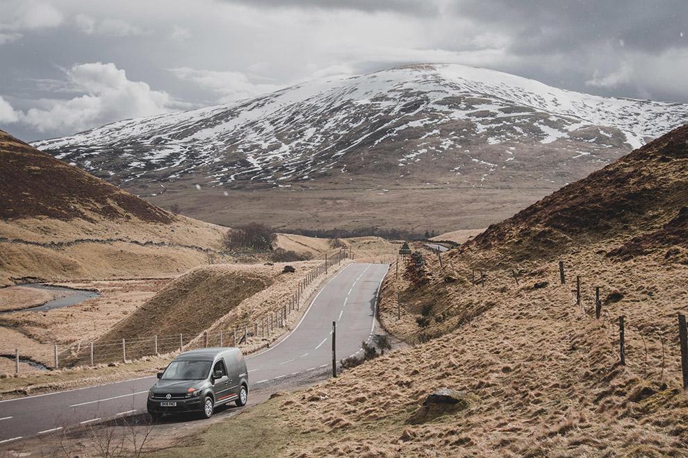 Roadtrip met busje door de Schotse hooglanden