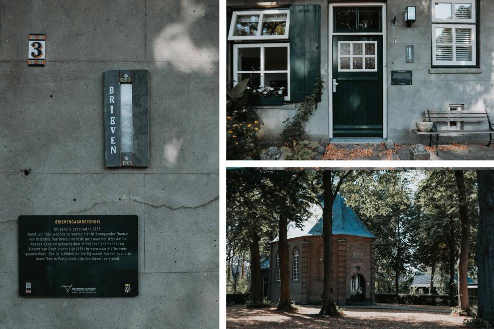 Het Van Goghkerkje en postkantoor