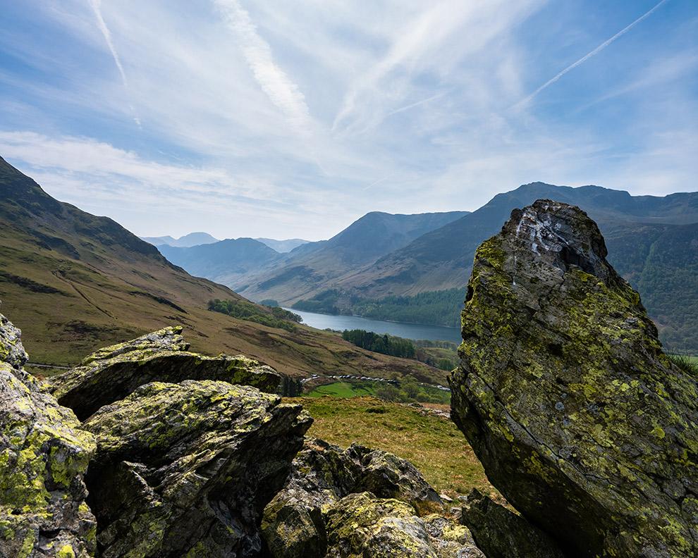 Berglandschap in het noordwesten van Engeland