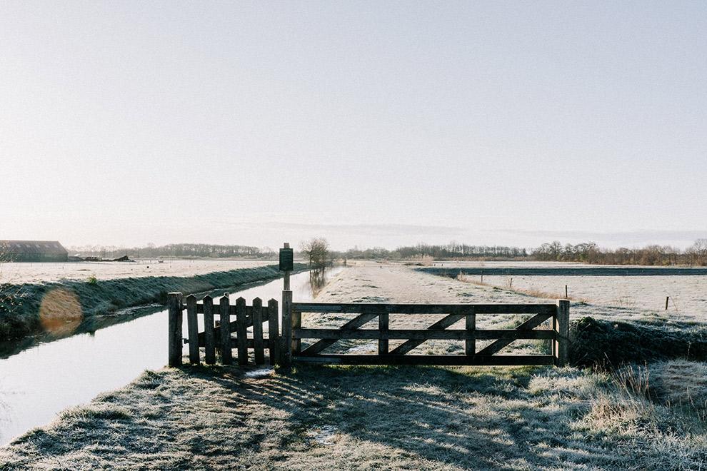 Wandelen door rustgevende natuur van Nederland