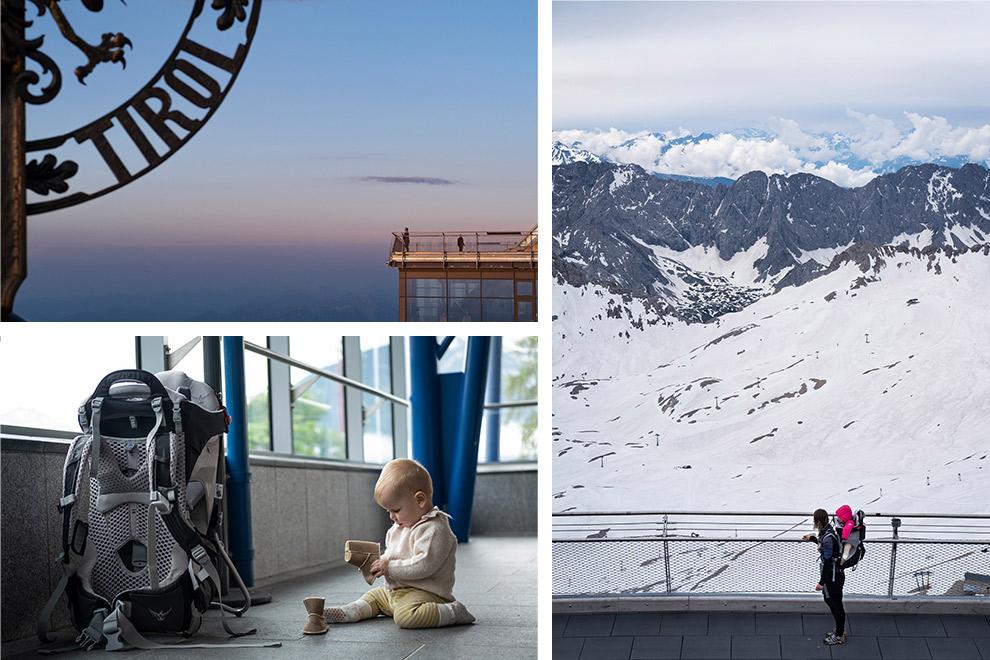 Met een kind op vakantie in de bergen van Zugspitz Arena.