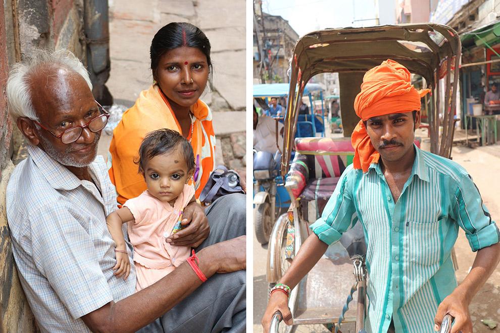 Lokale bevolking van India vastgelegd op beeld