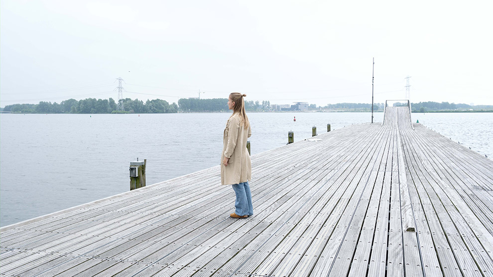Verre uitzichten over het Weerwater in Almere