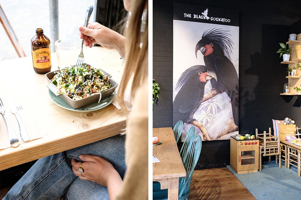 Geniet van een vega maaltijd in lunchroom The Black Cockatoo in Almere