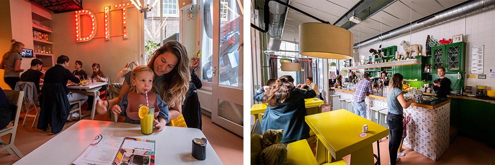 Lunchen bij eetbar DIT in Noord-Brabant