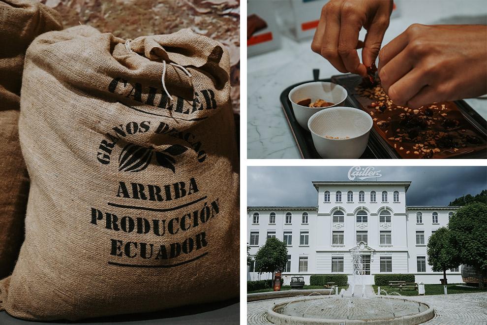 Maak je eigen chocolade reep in het museum van Cailler