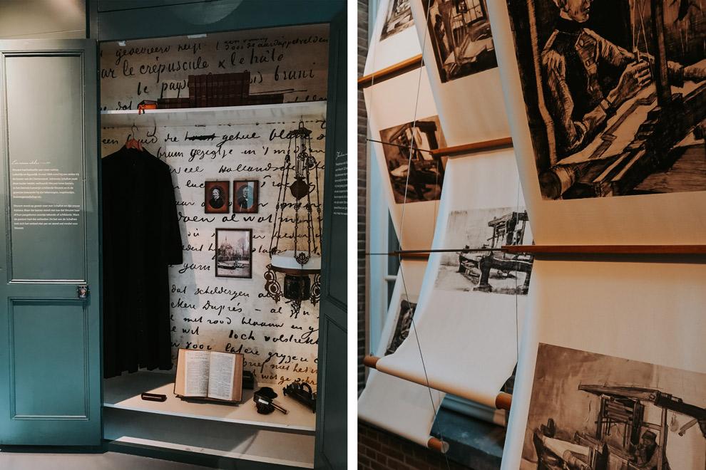 Schetsen en persoonlijke bezittingen van Van Gogh