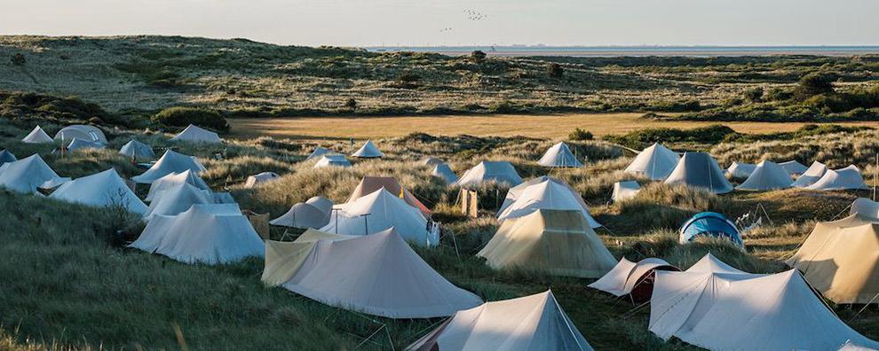 Camping Stortemelk in Vlieland