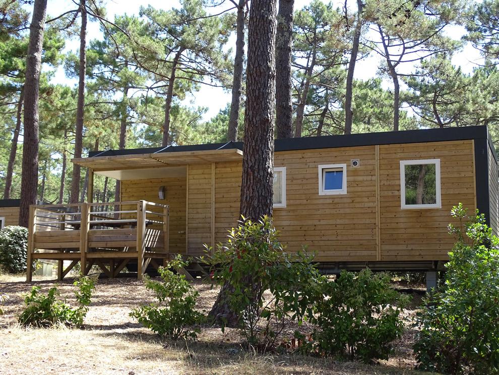 Mobile home op Camping la Grigne