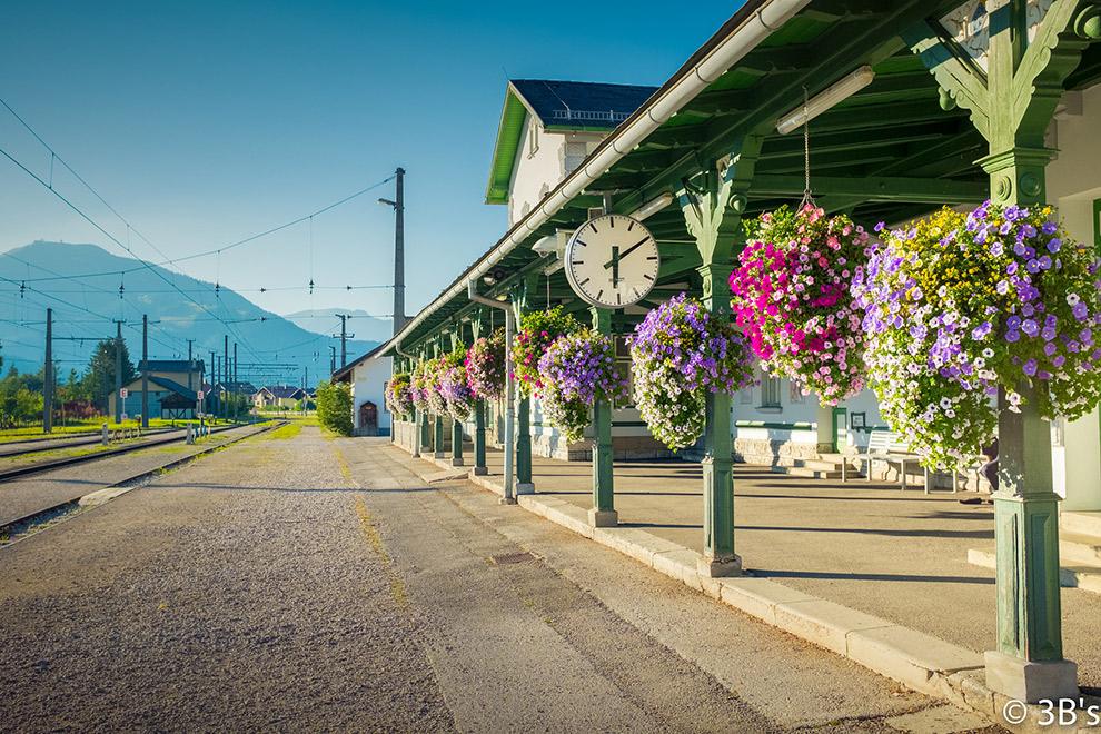 Typisch Oostenrijks treinstationnetje