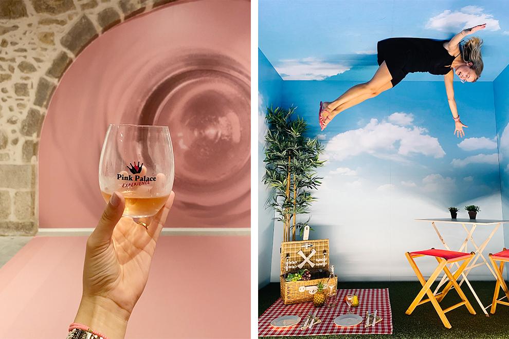 Drink rosé en ontdek de bijzondere kamers van Pink Palace in Porto
