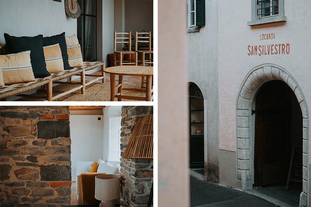 Stijlvol ingericht boutiquehotel Locanda San Silvestro in Meride