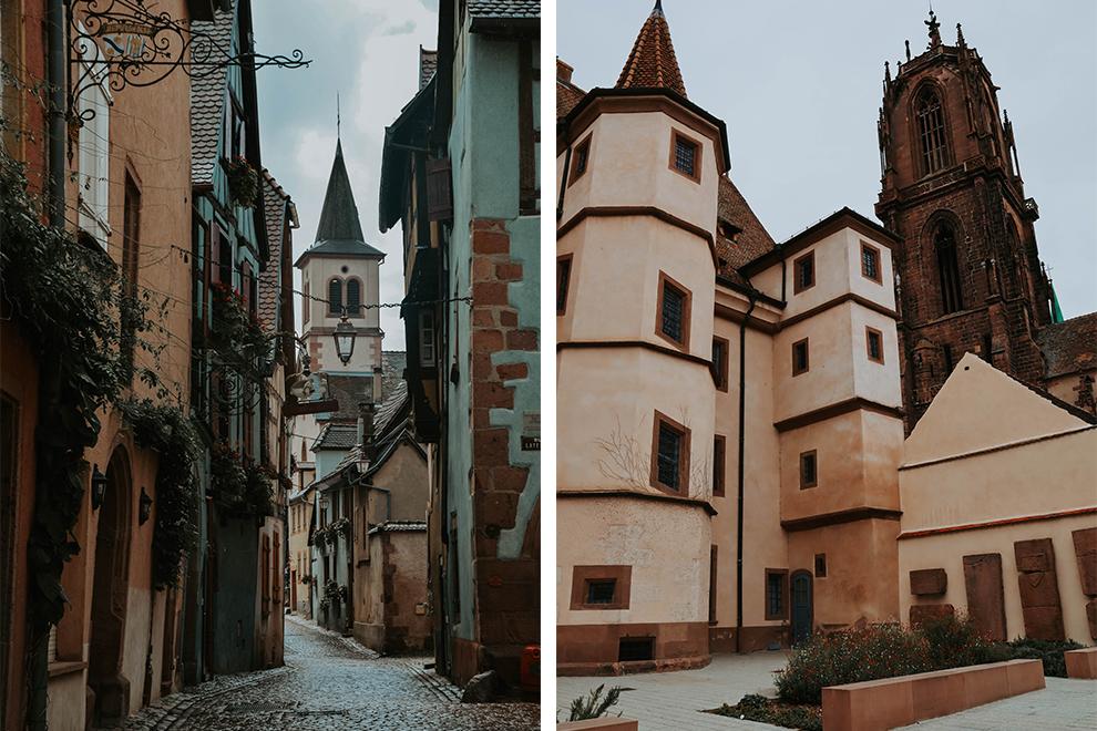 Middeleeuwse dorpen in de wijnstreek door Elzas