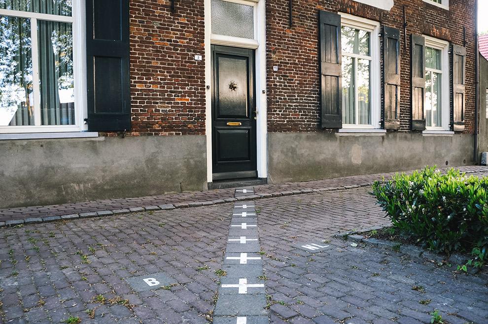 Landgrens België-Nederland doorkruist huis